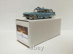 1/43 Motor City 1959 Cadillac Crown Royal Ambulance MC-96 handmade