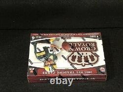 1 New Factory Sealed 2015 Panini Crown Royale Hobby Football Box Please Read