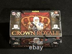1 New Unopened Factory Sealed 2010 Panini Crown Royale Football Hobby Box