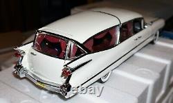 1959 Cadillac Superior Crown Royale Hearse White 1/18 Precision Miniatures New