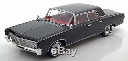 1965 Chrysler Imperial Crown 4-Door Black by BoS Models LE of 1000 1/18 Scale