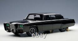 1966 Imperial Crown Sedan Green Hornet Black Beauty Model in 118 Scale AUTOart