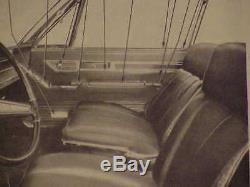 1967 68 Imperial Crown NOS MoPar LF ARM REST PANEL ASSY