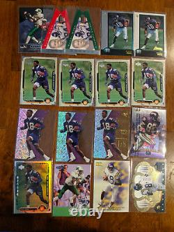 1998 Randy Moss 17 Card RC Lot Chrome, EX, Encore, Crown Royale++