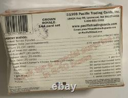 1999 Pacific Crown Royale Football Hobby Box Factory Sealed 24 Pack
