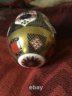 1st Quality Royal Crown Derby Imari 1128 L111 Golden Egg & Cup