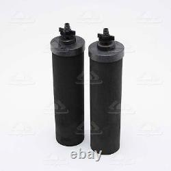 2 BLACK BERKEY BB9-2 REPLACEMENT Water Filters BIG TRAVEL ROYAL IMPERIAL CROWN