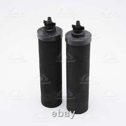2 Black Berkey Water Filter BB9-2 Replacement Big Travel Royal Imperial Crown