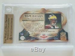 2000 Crown Royale #110 Tom Brady RC BGS 9.5 GEM MINT ROOKIE lowest price on EBAY