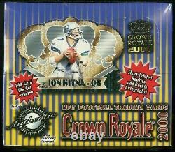 2000 Pacific Crown Royale Football Sealed Box TOM BRADY RC Tampa Bay