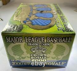 2000 Pacific Crown Royale Major League Baseball Cards Factory Sealed Hobby Box