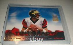 2000 Tom Brady Pacific Crown Royale Rookie Royalty RC Tampa Bay New England