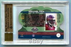 2001 Crown Royale Michael Vick Auto RC Rookie 65/250 BGS 9.5 Gem Mint