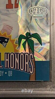 2002 Pacific Crown Royale Pro Bowl Honors Tom Brady #11 PSA 10 GEM MINT RARE