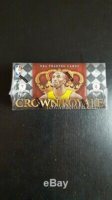 2009-10 Panini Crown Royale Basketball Hobby Box Curry, Harden's RC year