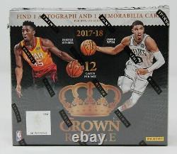 2017-18 Panini Crown Royal Basketball Factory Sealed Hobby Box