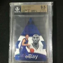 2018-19 Crown Royale MAMBA'S Choice Blue /49 LUKA DONCIC RC BGS 9.5 low Pop Kobe