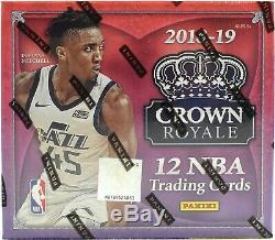 2018/19 Panini Crown Royale Basketball Sealed Hobby Box