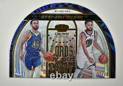 2019-20 Crown Royale Lords of the Court Gold #16 Stephen Curry /10