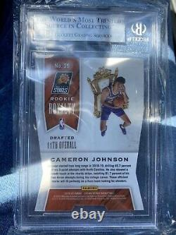 2019-20 Panini CAMERON JOHNSON Rookie Royalty Crown Royale One Of One 1/1