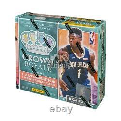 2019-20 Panini Crown Royale Basketball Hobby Box