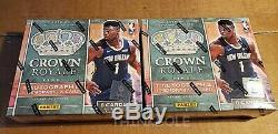 2019-20 Panini Crown Royale Basketball Nba Hobby Box (1) Sealed Zion Ja Morant
