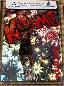 2019-20 Panini Crown Royale DE'ANDRE HUNTER KABOOM RC Rookie Atlanta Hawks