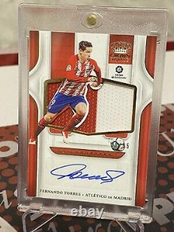 2019 Chronicles Soccer Crown Royale Silhouettes Fernando Torres #10/65