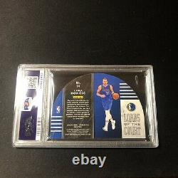 2019 Panini Crown Royale Luka Doncic Lords Of The Court #75/75 PSA 9 MINT