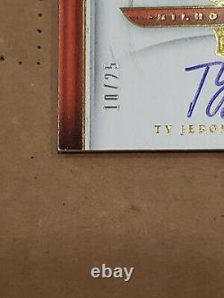 2019 Panini Crown Royale Silhouettes SSP /25 Ty Jerome RC Auto Rookie Autograph