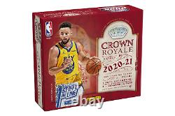 2020-21 PANINI Crown Royale 1ST OFF THE LINE FOTL Basketball HOBBY BOX Lamelo RC