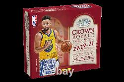 2020/21 PANINI Crown Royale NBA 1st Off the Line FOTL HOBBY BOX Confirmed