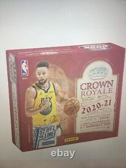 2020-21 PANINI Crown Royale NBA Basketball 1st FOTL HOBBY BOX