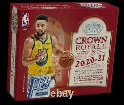 2020-21 PANINI Crown Royale NBA Basketball FOTL HOBBY BOX! CONFIRMED 4/27