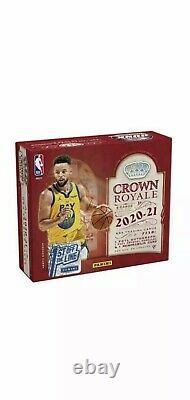 2020-21 Panini 1st Off The Line FOTL Crown Royale NBA Basketball Hobby Box