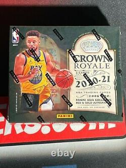 2020-21 Panini Crown Royale Asia Exclusive Tmall 20/21 New Release