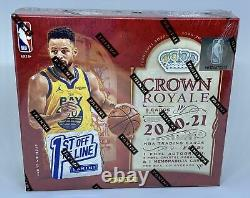 2021 Panini Crown Royale NBA Factory Sealed FOTL Hobby Box 1st off the line NEW