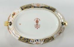 Antique Royal Crown Derby Old Imari Sugar Bowl Dish Tiffany & Co New York