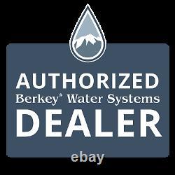 Berkey 2 Black Water Filters BB9-2 Replacement Big Travel Royal Imperial Crown