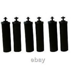 Berkey Water Filters 6 Black Replacement Travel Big Royal Imperial Crown Light