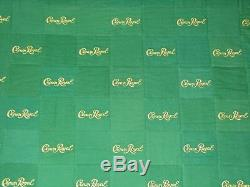 Crown Royal Green Apple Bag Quilt Made From More Than 160 Bags