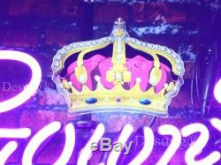 Crown Royal Lamp Logo Neon Light Sign 24 HD Vivid Printing Technology