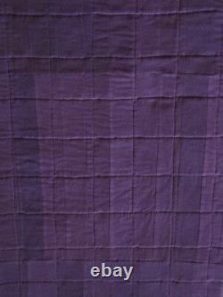 Crown Royal Purple And Gold Bag Quilt Made From More Than 160 Bags