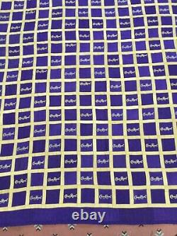 Crown Royal Purple And Gold Bag Quilt Made From More Than 160 Bags Large Size