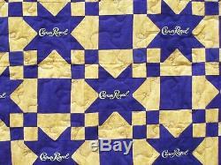 Crown Royal Purple quilt 70x86