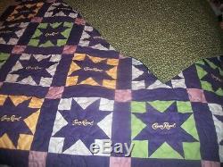 Crown Royal Quilt (Handmade)