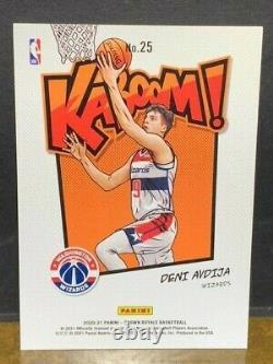 Deni Avdija Kaboom Sssp Rookie 2020-21 Crown Royale Wizards Rc Pack Fresh