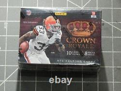 Factory Sealed 2012 Panini Crown Royale Football Box Trading Cards NFL Auto