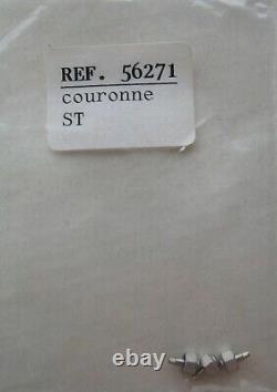 GENUINE AUDEMARS PIGUET AP ROYAL OAK REF. 56271 ST SPARE PART 1x STEEL CROWN NEW