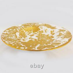 GOLD AVES Royal Crown Derby 5 Piece Place Setting NEW NEVER USED made in England